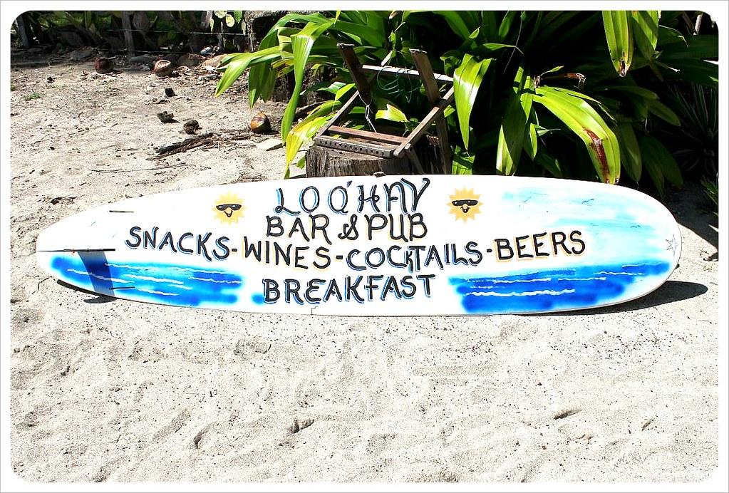 samara beach lo que hay beach bar