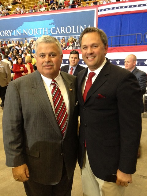 With NC Senator Tom Apodaca