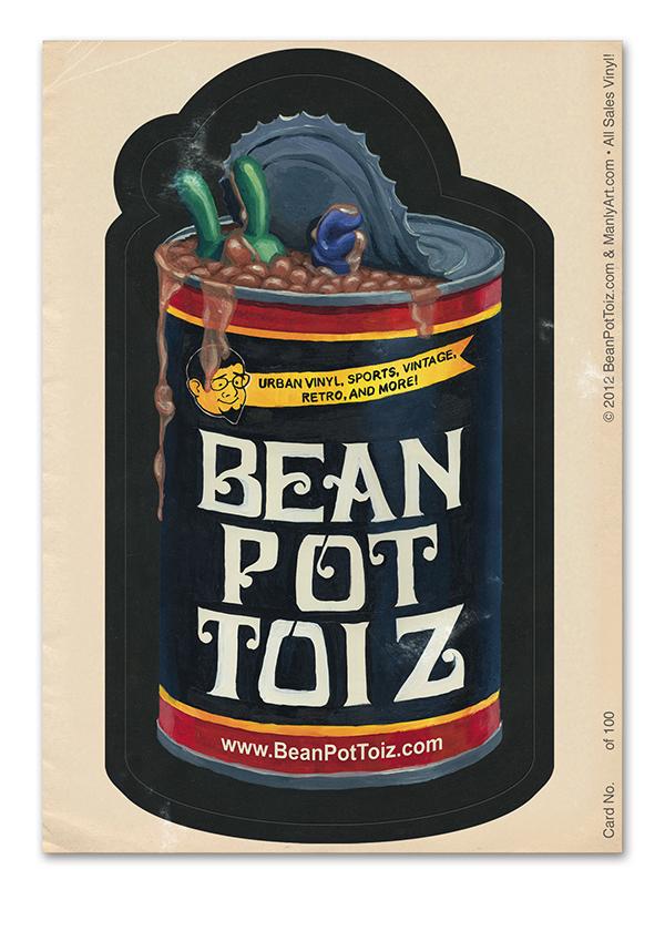 Bean Pot Toiz Designer Con Print...