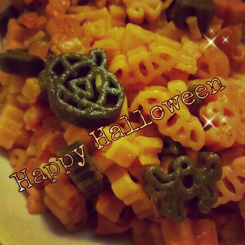 Day 31: whatever you please: Happy Halloween everyone with #halloween #pasta #fmsphotoaday #fmsphotoadayoctober #instasweet