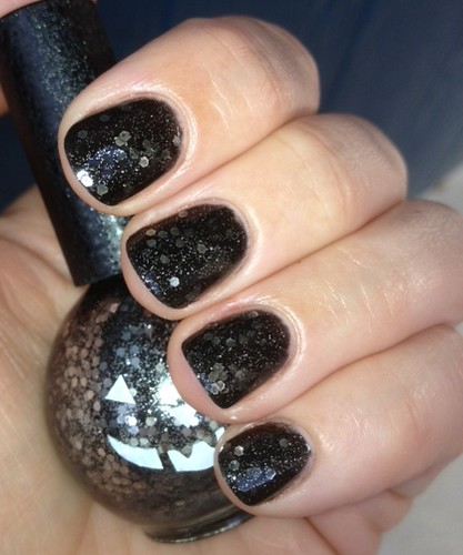Blue Cross Pumpkin Glitter