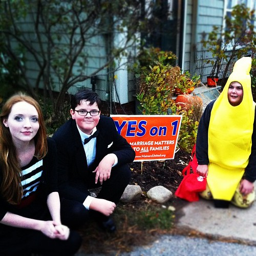 three teens agree: they want you to vote Yes on 1 #yeson1 #equalmarriage #maine