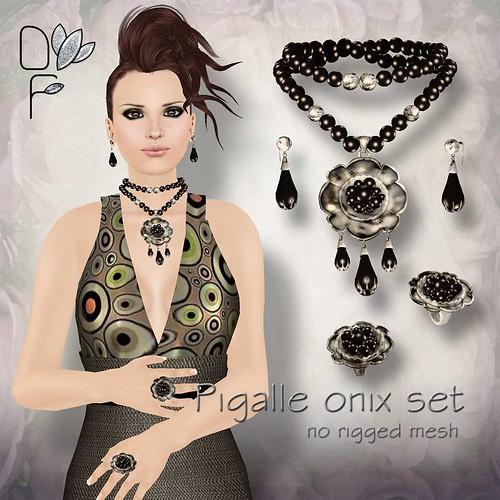 PIGALLE onix set