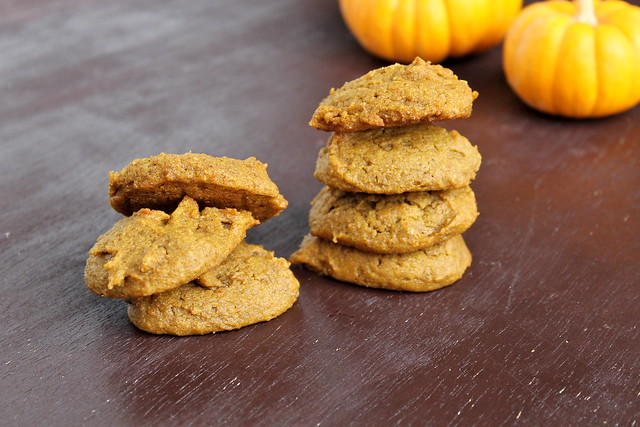 Pumpkin Spice Cookies (vegan)