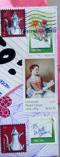 Vintage USA Postage Stamps