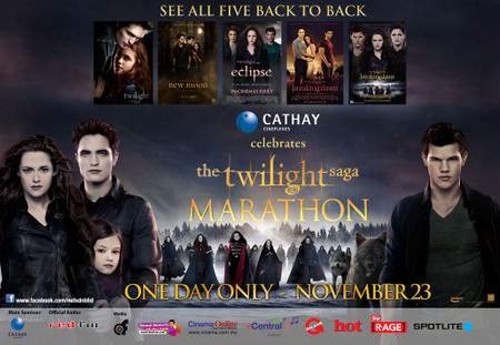 The Twilight Saga Movie Marathon di Cathay Cineleisure