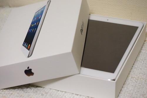 iPad mini、開封