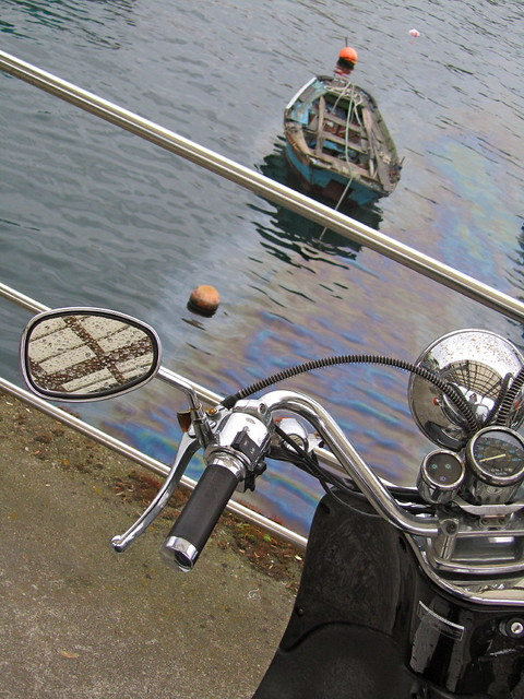Moto & barca