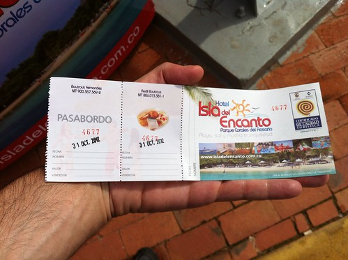 Colombia | Islas del Rosario | Ticket