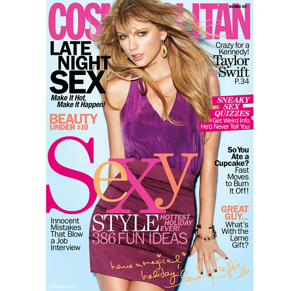 Taylor Swift Gets Sexy for Cosmo, Glam for ELLE Canada