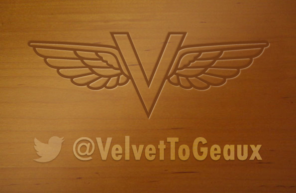 Logo Design for Velvet to Geaux by Penina S. Finger