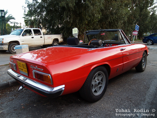 alfa romeo spider 115 series flickr photo sharing. Black Bedroom Furniture Sets. Home Design Ideas