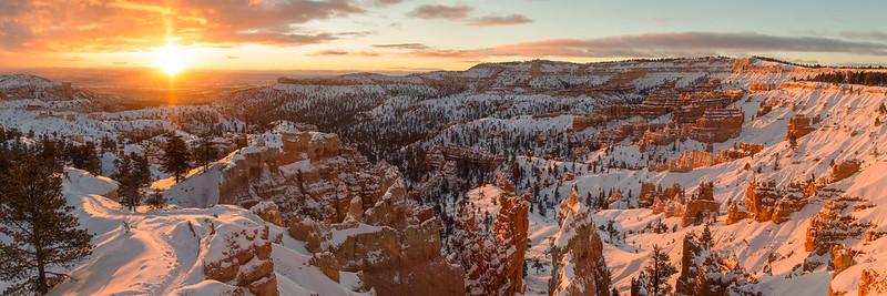 Bryce Canyon Sunrise Panorama