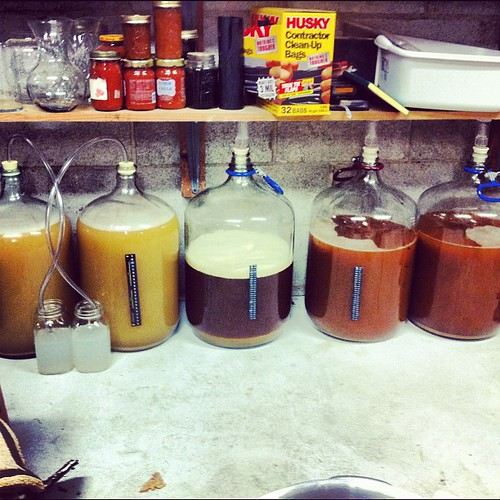 25 gallons of beer. All in a days work!
