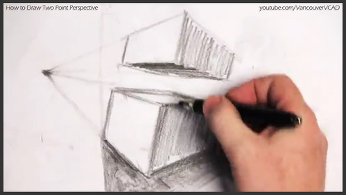 2D design how to draw in two point perspective 020