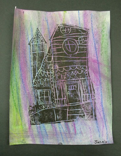 Haunted House Prints : Gessokids