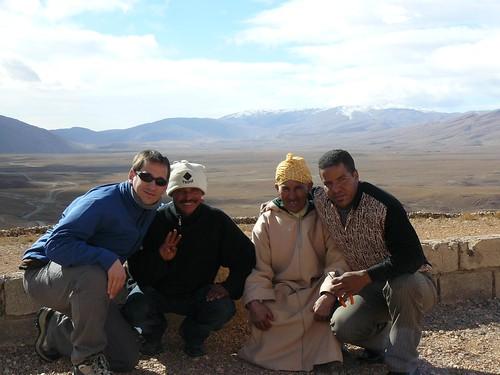 Con Ahmed y los demás bereberes