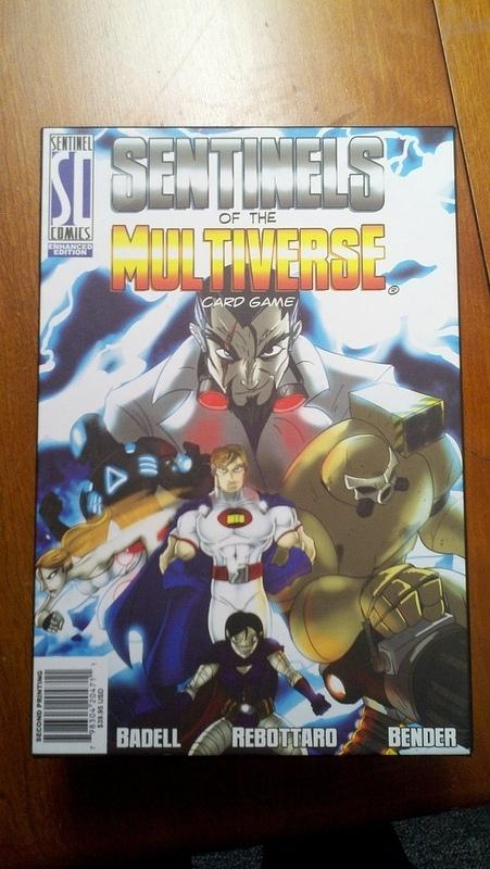 Sentinels of the Multiverse Cover