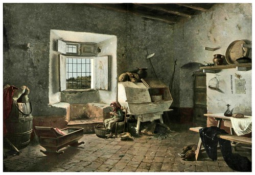 011-Interior de una casa de payes en cataluña- Tomas Moragas- Album Salon 01-1903- Hemeroteca digital de la Biblioteca Nacional de España