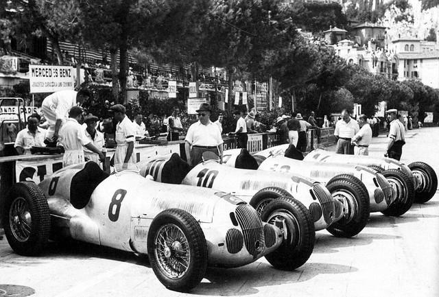 1937 Mercedes-Benz W125. Monaco 1937