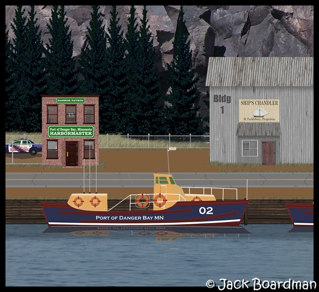 Harbor Patrol, Harbormaster offices & Ship's Chandler