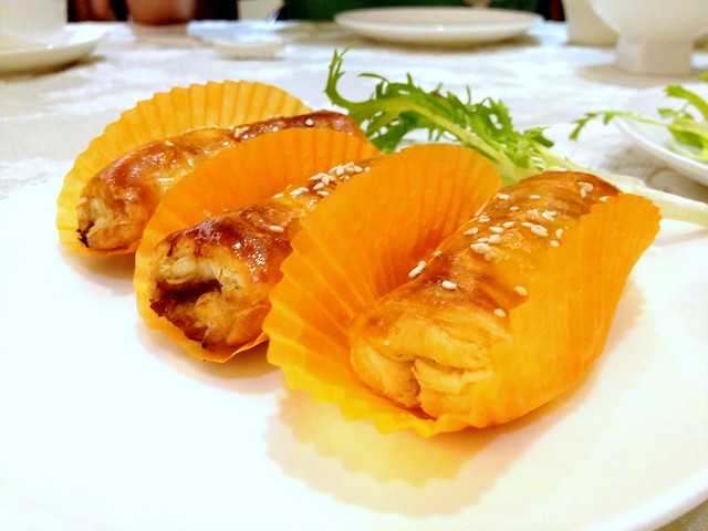 Baked Puff Pastry with Char Siew