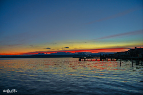 sunset twilight sunsets porttownsend redsky pnw fierysky sunsetporn wintersunsets
