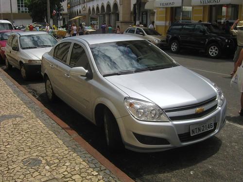 Chevrolet Vectra, Salvador (Bahia), Brasil