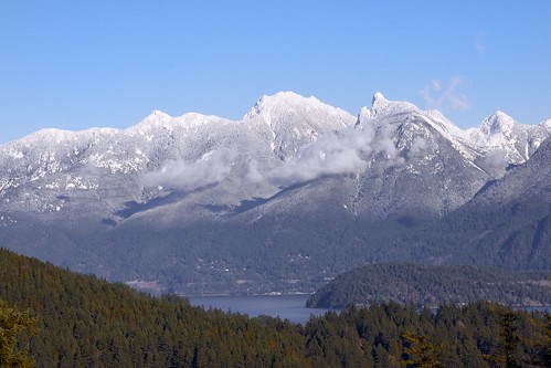The View From Bowen Island