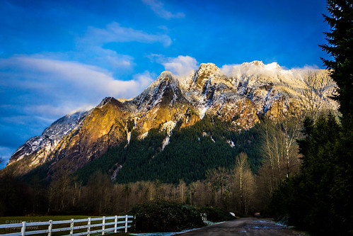 Mount Si at Sunset