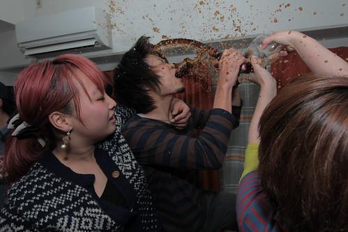 新年会蟹鍋