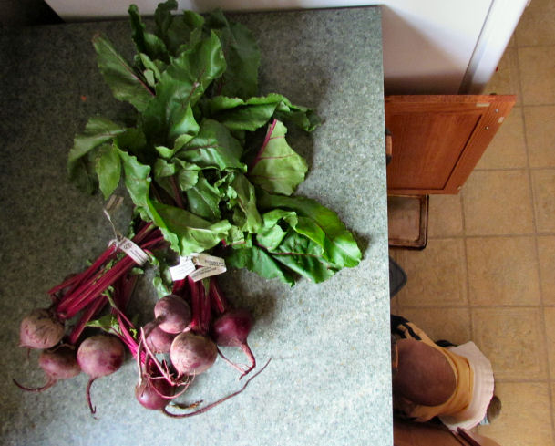 Two Bunches of Beets