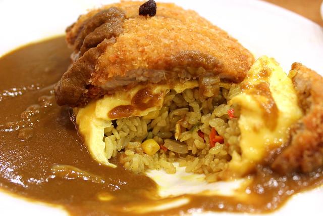 Deluxe Katsu Curry innards