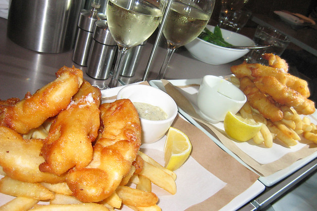 18/365 Fish & Chips & Riesling