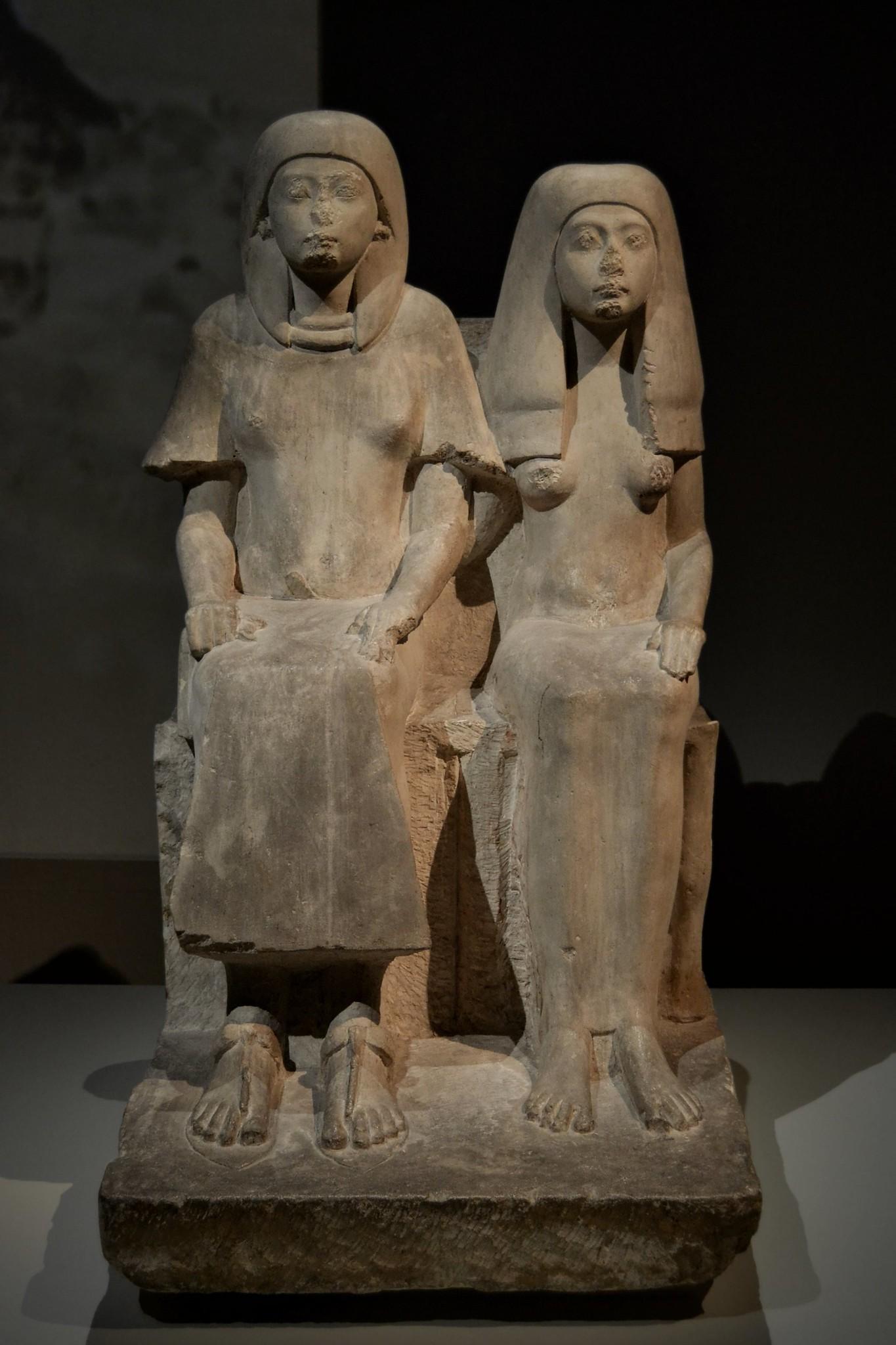 Statue of Merymaat | Statue of Merymaat, Thebes, Dra Abu