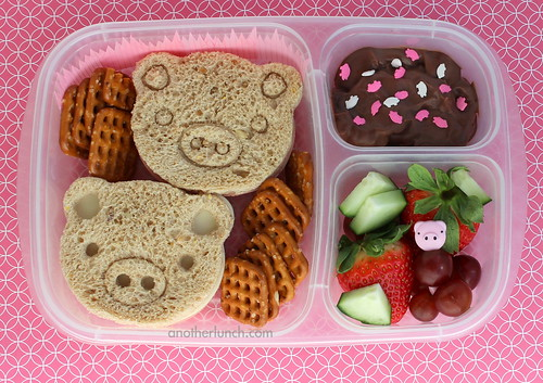 pig pen ELB bento lunch