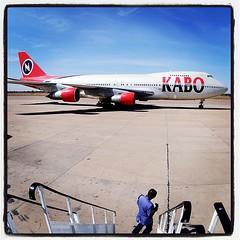 Mallam Aminu Kano International Airport in Kano, Nigeria.