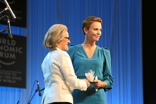 Crystal Award Ceremony- Exploring Arts in Society: Charlize Theron