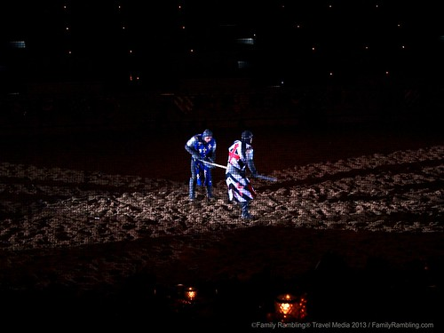 Swordfight at Medieval Times