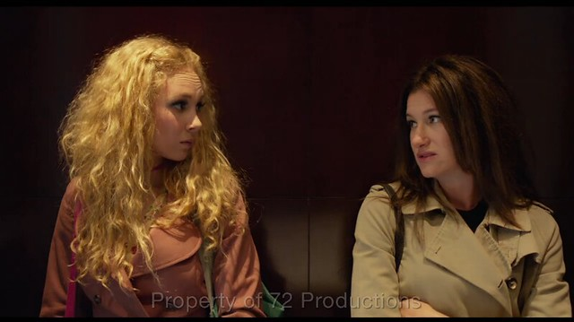 Juno Temple and Kathryn Hahn have an awkward discussion