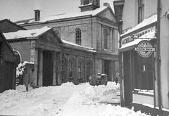 Monmouth in The Snow, 1947: Priory Street
