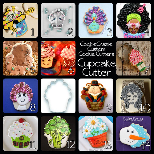 Cupcake Cutter Project Collage Banner