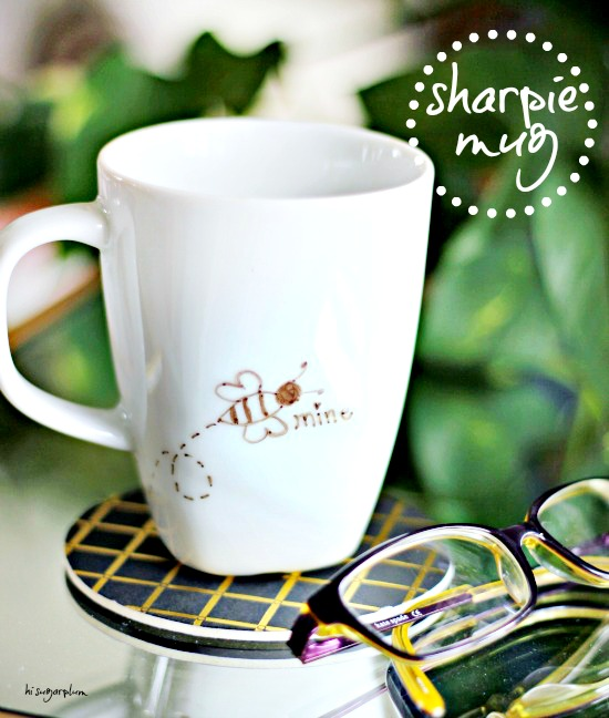 Hi Sugarplum | Valentine Sharpie Mug