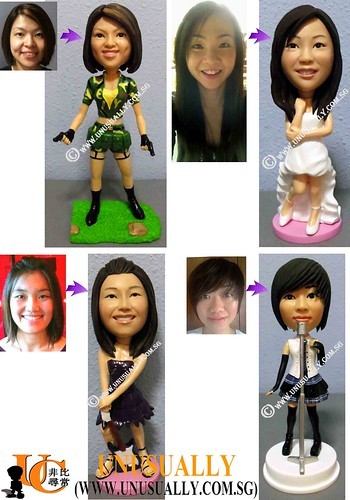Personalized 3D Unusually Sexy Women Figurines  - @www.unusually.com.sg