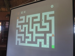2-player Maze action on the big screen