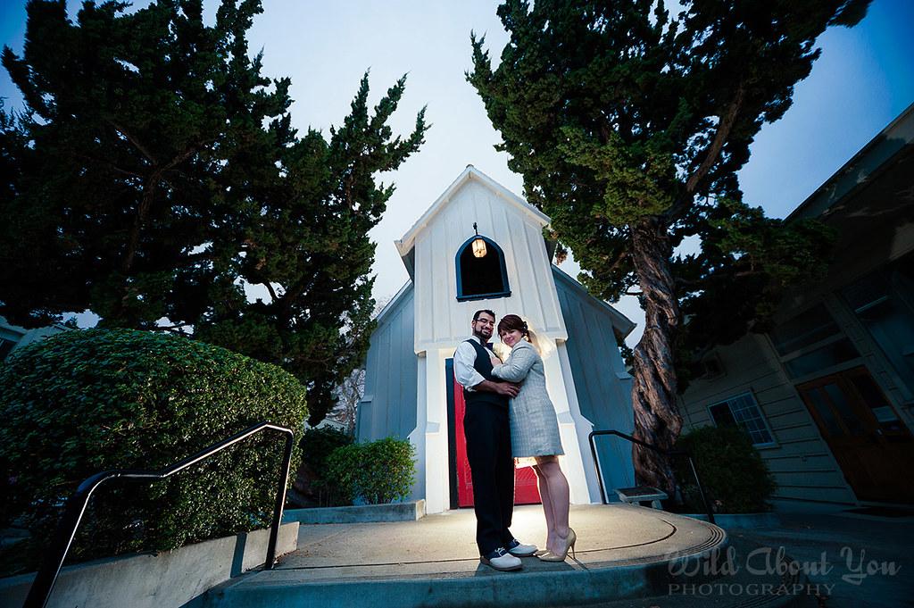 rita & sergio's last-minute chapel wedding