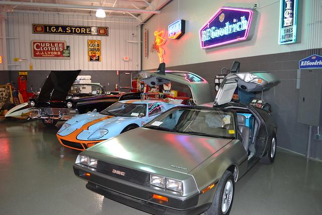Ray Skillman Used Cars >> Ray Skillman Classic Car Museum*   A Delorean, like the ...