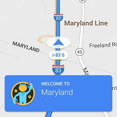 Oh... Thank you #googlemaps!!! #maryland #md