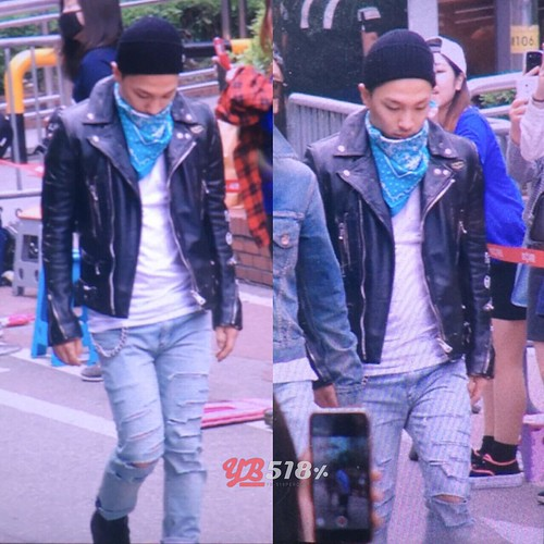 Big Bang - KBS Music Bank - 15may2015 - Tae Yang - YB 518 - 01