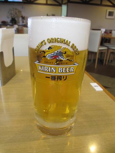 阪神競馬場のミュンヘンの生ビール